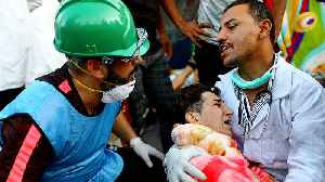 News video: Iraq protests: Medics say they are being targeted