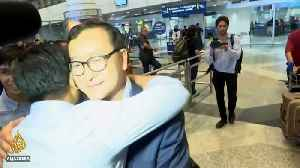 News video: Cambodian opposition leader Kem Sokha freed from house arrest