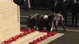 A look at today's Remembrance Sunday events [Video]