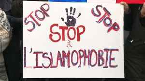 Paris march against Islamophobia divides the left and draws government criticism [Video]