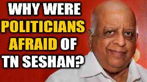 News video: TN Seshan no more: The man who instilled fear in the hearts of politicians | Oneindia News