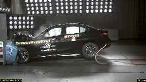 The BMW 3 Series Sedan in the Euro NCAP Crash & Safety Test [Video]