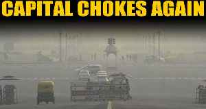 Delhi's air quality dips to 'very poor', to become 'severe' soon. | OneIndia News [Video]