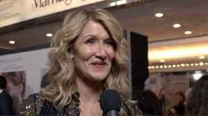 'Marriage Story' Premiere: Laura Dern [Video]