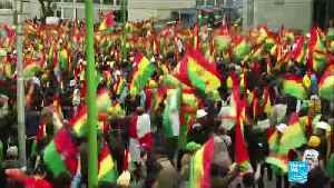 Bolivians react to the resignation of President Evo Morales [Video]