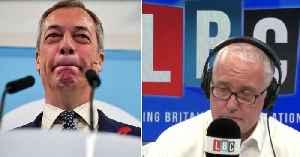 Eddie Mair forensically interviews Nigel Farage: in full [Video]