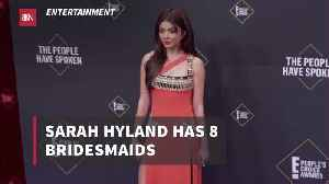 New Details On Sarah Hyland's Wedding [Video]
