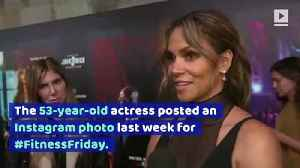 Halle Berry Shows Off Six-Pack Abs [Video]