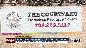 Homeless ordinance in Las Vegas takes effect Sunday [Video]