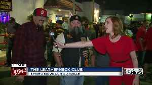 Marine Corps birthday at the Leatherneck Club [Video]