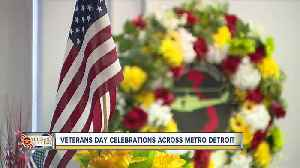 Veterans Day celebrations across metro Detroit [Video]