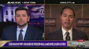 Julián Castro Calls for Re-ordering of Democratic Primary States [Video]