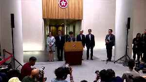 Hong Kong leader says violence has far exceeded calls for democracy [Video]