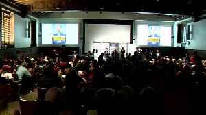 Trump Jr. met by hecklers at UCLA [Video]