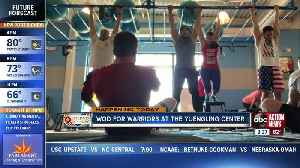 WOD for warriors at Yuengling Center [Video]