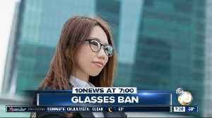 Women banned from wearing glasses at work? [Video]