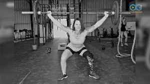 Marine Amputee Heals Herself Through Strength - A 'Catch A Lift' Story [Video]