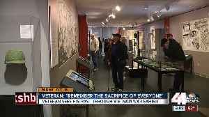 Vietnam War veteran reflects on new war exhibit [Video]
