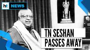 News video: TN Seshan, ex-Chief Election Commissioner, poll reform architect passes away