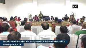 Kartik Purnima District administration, police officials in Ayodhya review preparations [Video]
