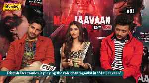 Marjaavaan is packed with emotions drama and action Riteish Deshmukh [Video]