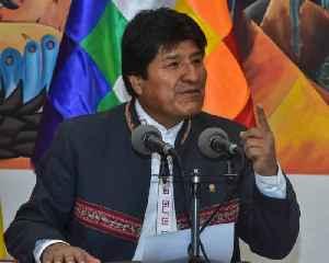 News video: Evo Morales Steps Down as President of Bolivia