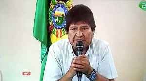 News video: Bolivia's beleaguered President Morales announces resignation