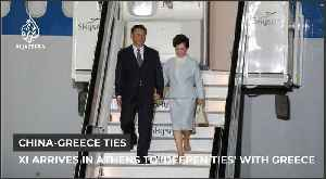 China's Xi arrives in Athens to 'deepen cooperation' with Greece [Video]