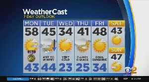 News video: New York Weather: Veterans Day Forecast