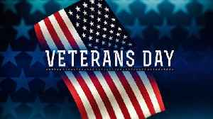 News video: Free and discounted services offered to veterans for Veterans Day