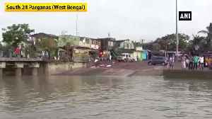 2 jetties damaged in Hatania Doania river after cyclone Bulbul [Video]
