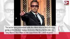 Robert Downey Jr dedicates People's Choice win to Stan Lee [Video]