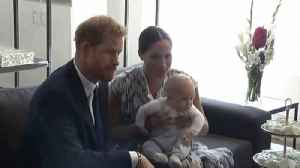 Archie's First Flight Was Actually To America to Visit One of His Mom's Famous Friends [Video]