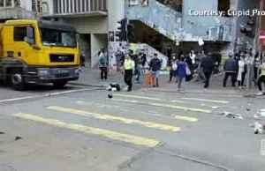 Hong Kong's violence dramatically escalates [Video]