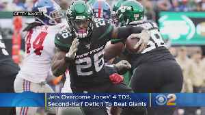 Jets Overcome Jones' 4 TDs, Second-Half Deficit To Beat Giants [Video]