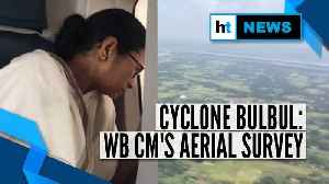 Cyclone Bulbul: Aerial survey by West Bengal CM, compensation announced [Video]