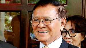 News video: Cambodia: Opposition leader Kem Sokha out of house arrest