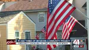 Phase Three of Veterans Community Project in the works [Video]