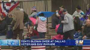 Winterlike Weather Didn't Stop Veterans Day Parade In Dallas [Video]