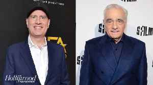 Kevin Feige Shares First Public Comments on Scorsese Debate | THR News [Video]