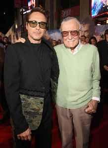 News video: Robert Downey Jr. Dedicates People's Choice Award to Stan Lee