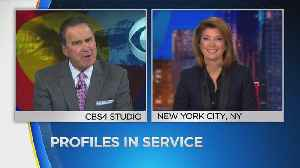 News video: CBS Evening News Has A Special Series 'Profiles In Service'