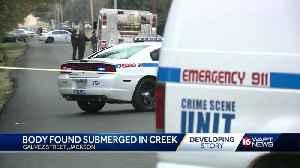 Body found in creek [Video]