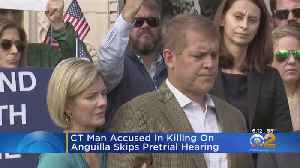 News video: Connecticut Man Accused In Killing On Anguilla Skips Pretrial Hearing