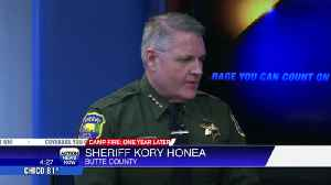 Sheriff Honea remembers the Camp Fire a year later [Video]