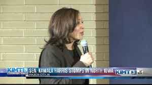 Kamala Harris stumps in Mason City [Video]