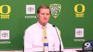 Web Extra: Dana Altman recaps win over Boise St. (11/9/19) [Video]