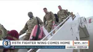 Hundreds of Air Force members from Southern Wisconsin return home to family and friends [Video]