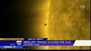 News video: Rare Mercury Sun Transit today