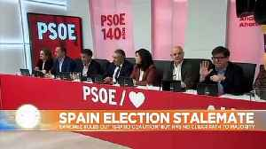 After the election deadlock, which parties could govern Spain? [Video]